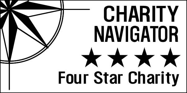 Charity Navigator Four Star Charity Seal